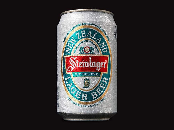 Steinlager White can 12x330Ml