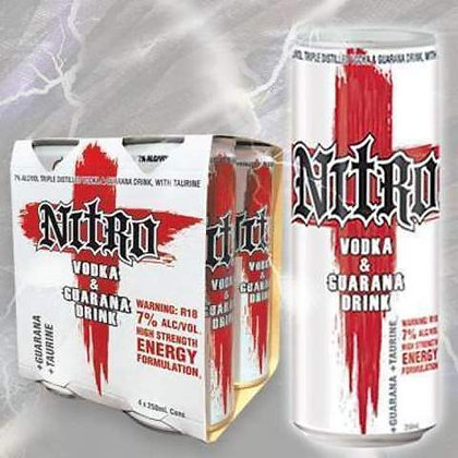 Nitro Vodka 24x250Ml Cans
