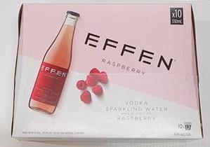 Effen Raspberry Vodka 10x330Ml Bottles