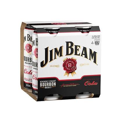 Jim Beam 4.8% 4x440mlCans
