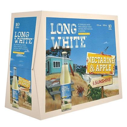 Long White Nectarine & Apple 10Pk  Bottles