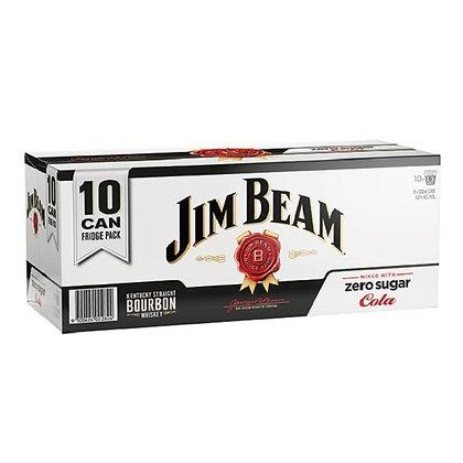 Jim Beam Zero Sugar 10.330Ml Cans