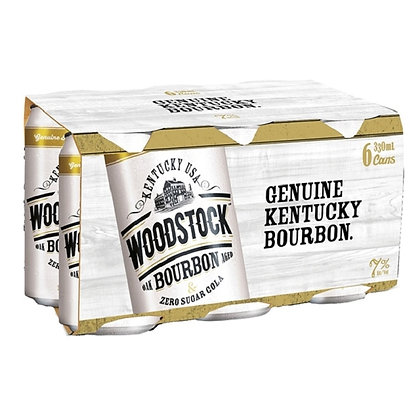 Woodstock Zero 7%  24x330Ml Cans