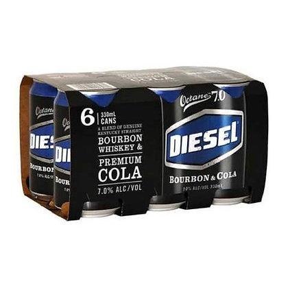 Diesel Bourbon  6x330Ml Cans