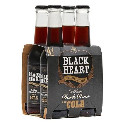 Black Hart 7% 4x330Ml Bottles