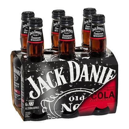 Jack Daaiels 6x330Ml Bottles