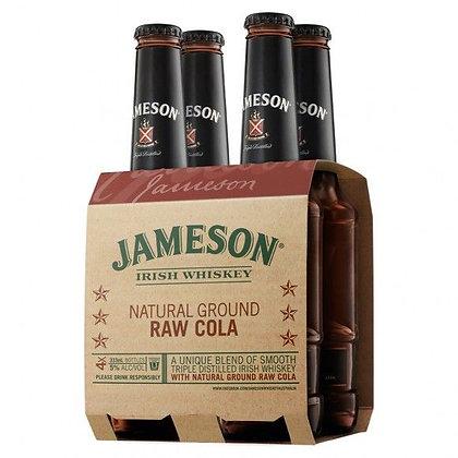 JAMESON RAW COLA 4PK bOTTLES