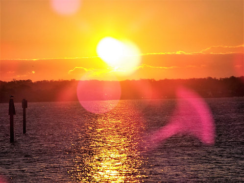 Montauk, NY Lake - Canvas - See With My Heart Photography