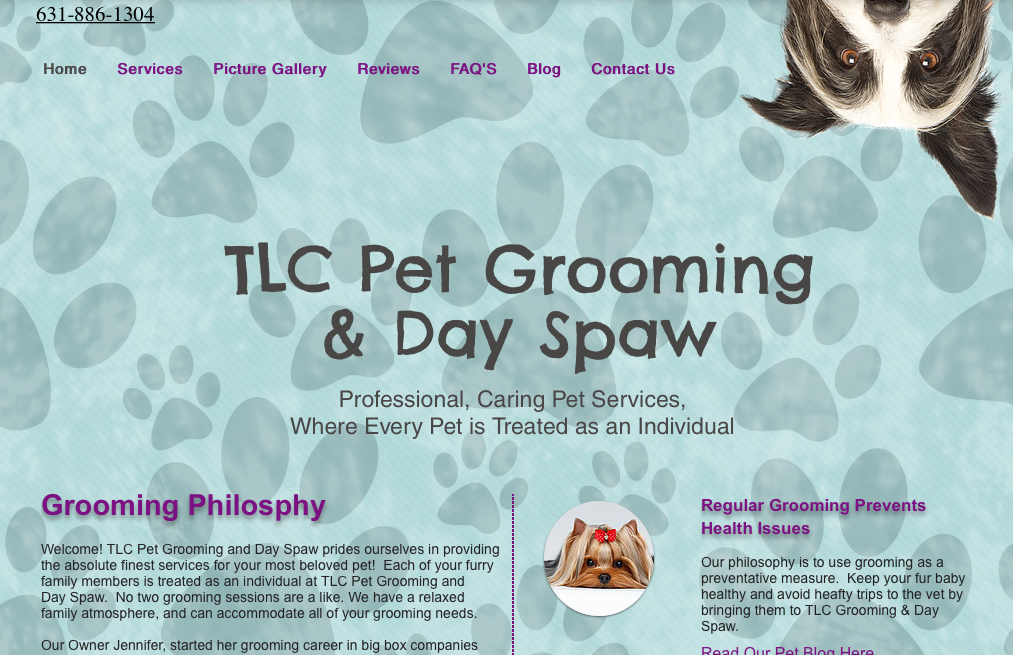 TLC Grooming Pet Spaw,