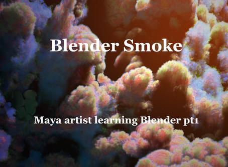 Maya artist learning Blender 2.8 pt1