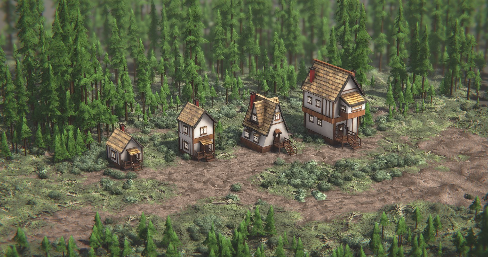 Houses - Real Time Asset