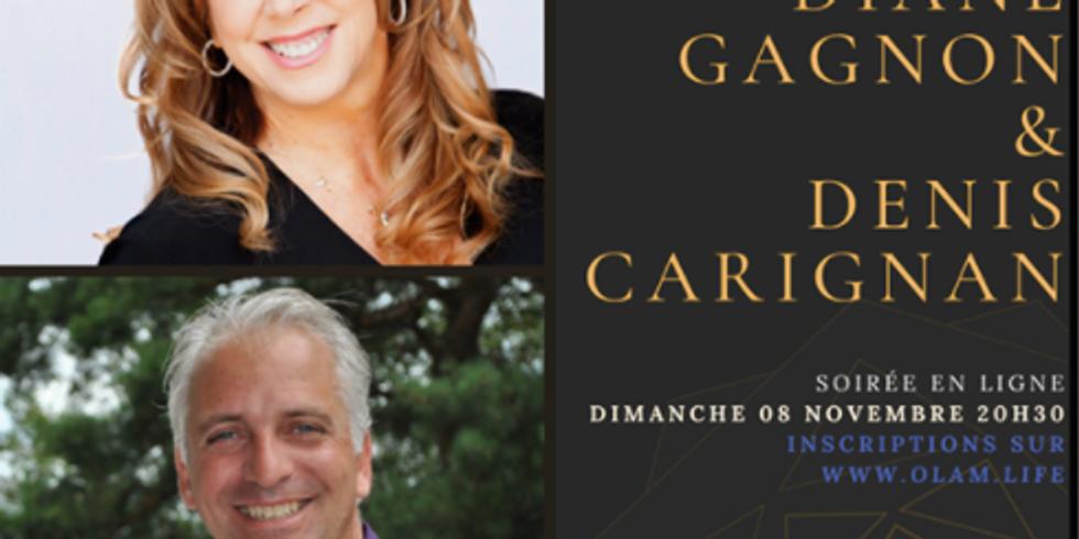 Rencontre avec Diane Gagnon et Denis Carignan
