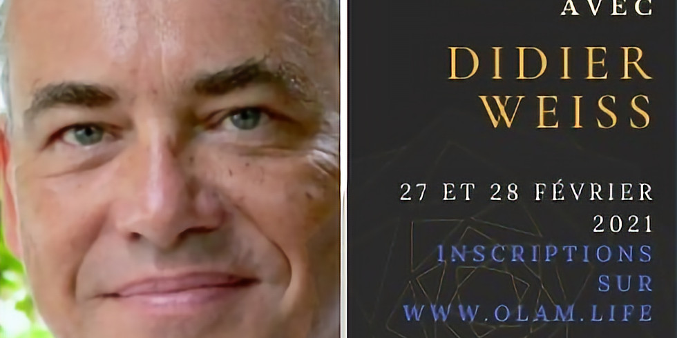 Week-end avec Didier Weiss  Février 2021