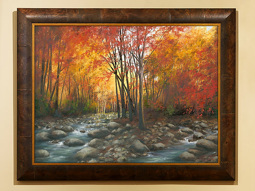 Extra Large Greenbriar Autumn Framed