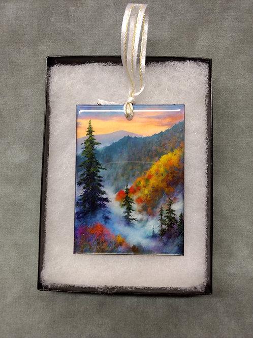Resin Coated Art Ornament