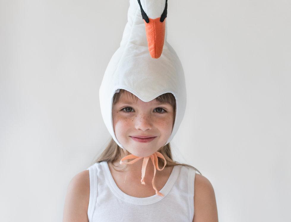 כובע ברבור לבן ילדות