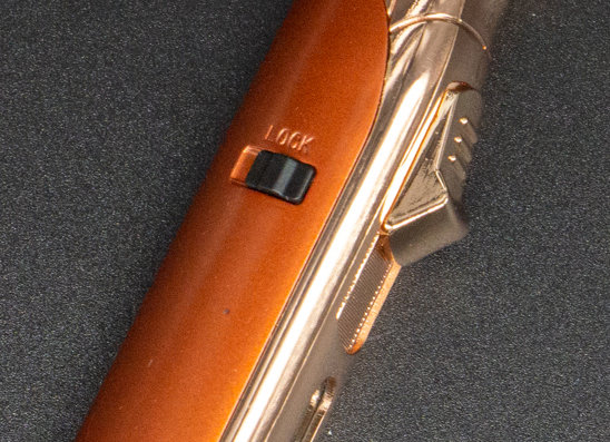 Aztech (Copper Gold w/Punch) by Vector