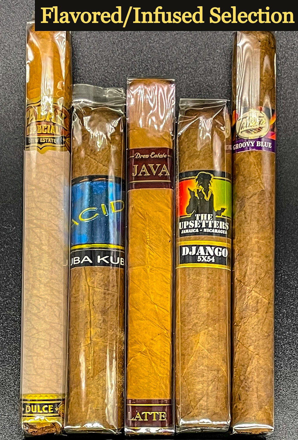 flabored or flavor infused cigars special fathers day gift box