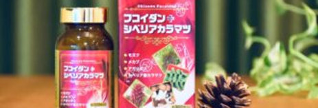 OKINAWA FUCOIDAN, AGARICUS & RED PINE Fucoidan, Nấm Agaricus & Thông Đỏ x 300