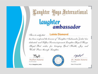 Laughter Ambessoder Certificate _A3_for