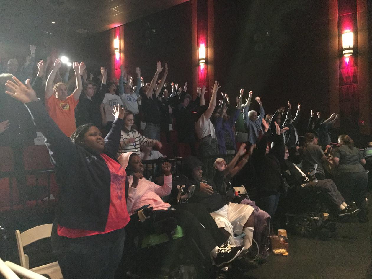 Lainie Teaching at ReelAbilities Houston Film Festival