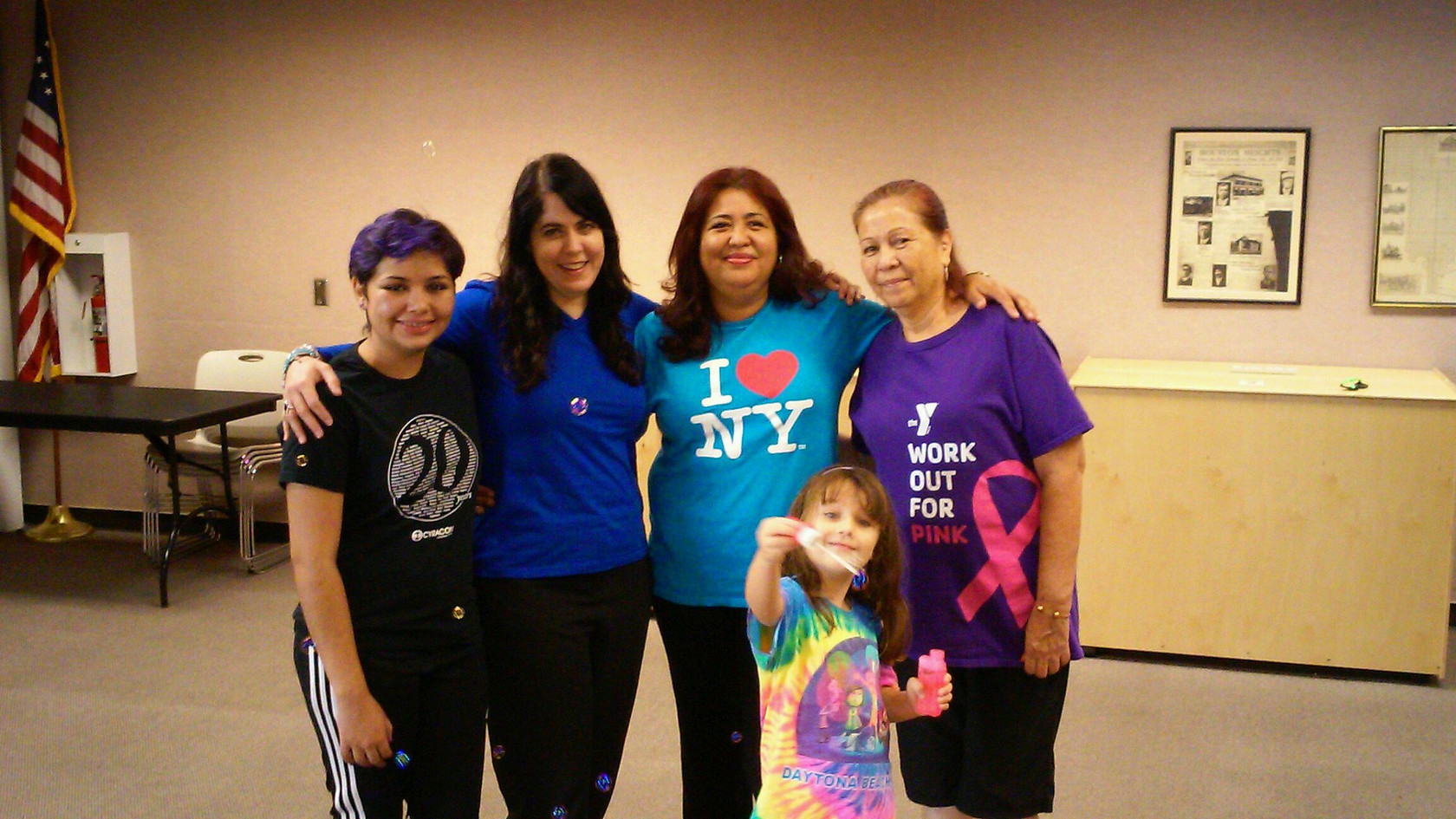 Houston Laughter Yoga at Houston Heights Public Library