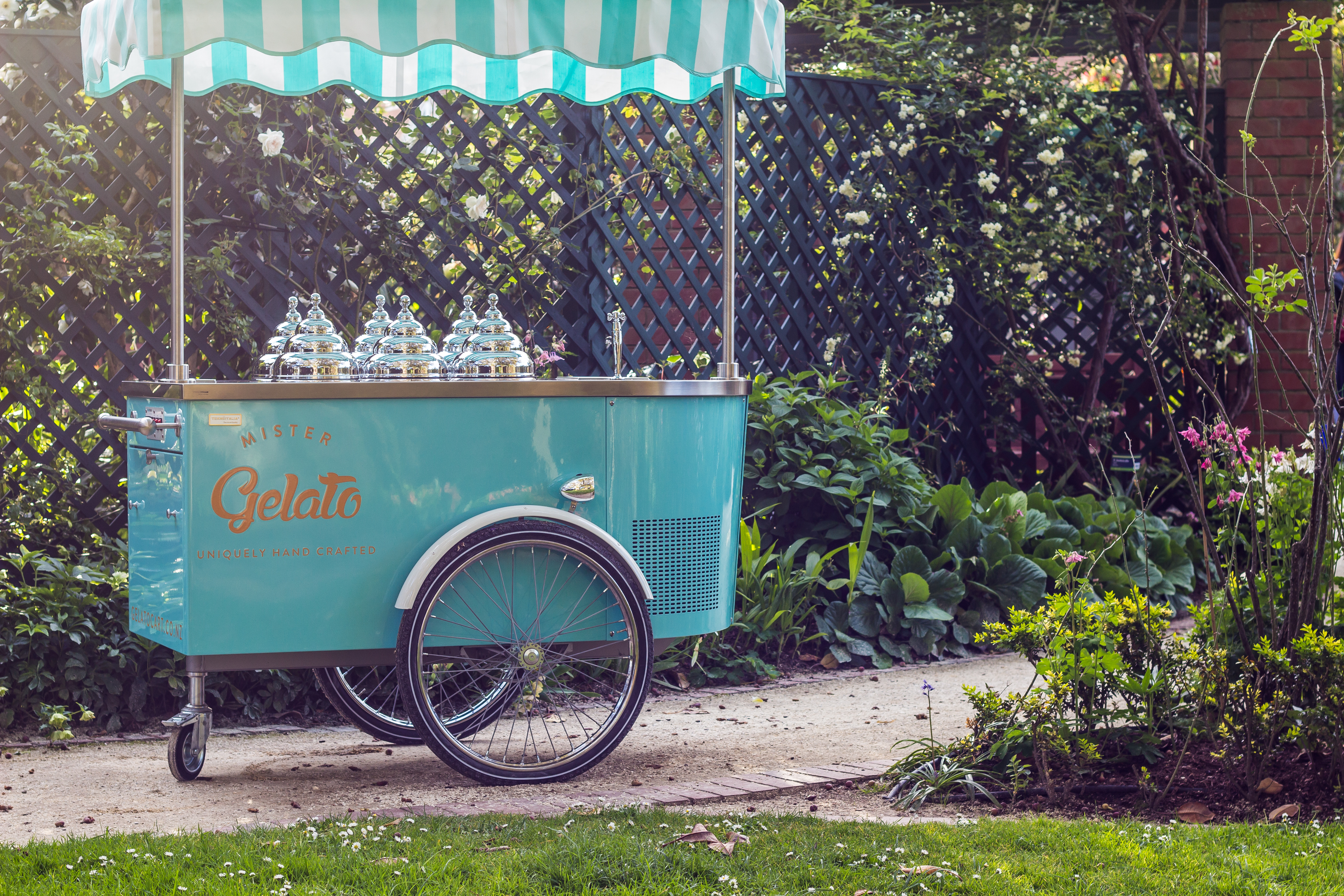 Our beautiful italian gelato cart