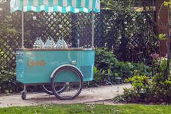 Our beautiful italian gelato cart