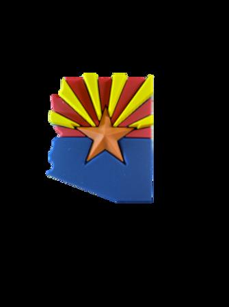 Arizona State Flag Mini Decal