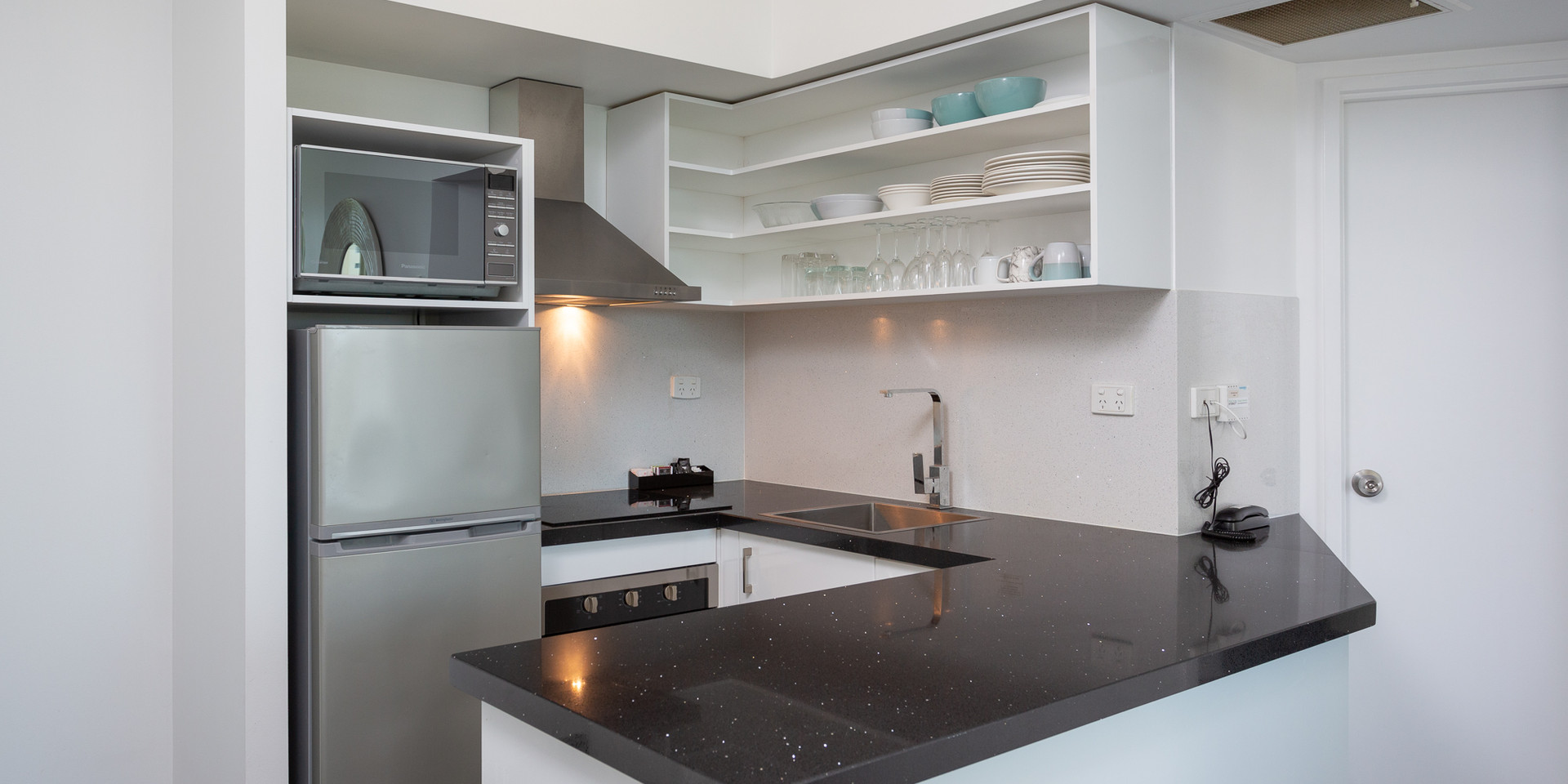 Superior Room Kitchen
