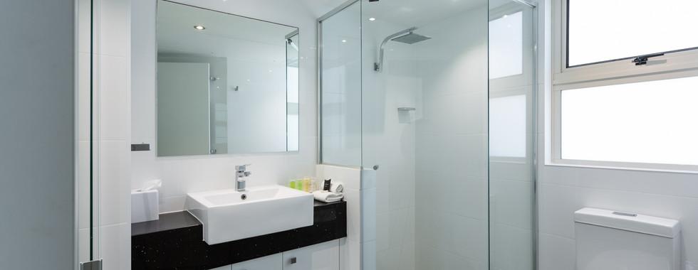 Superior Room shower