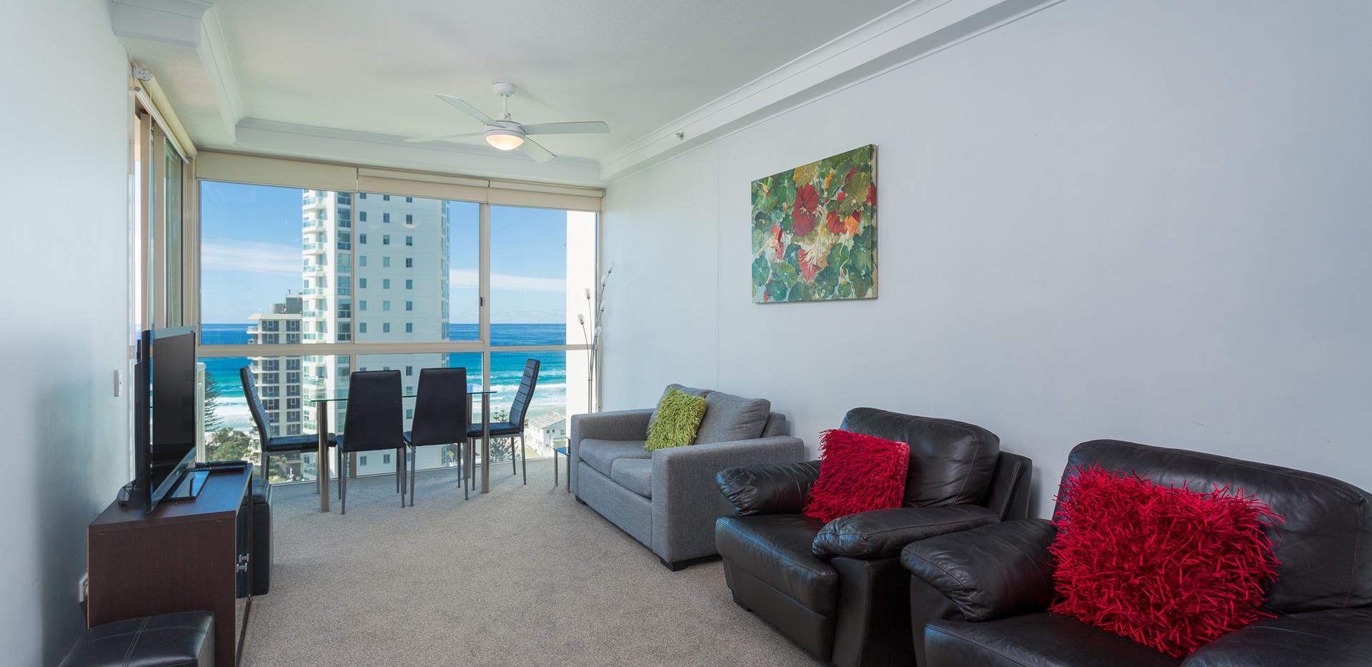 Ocean View sofa & view