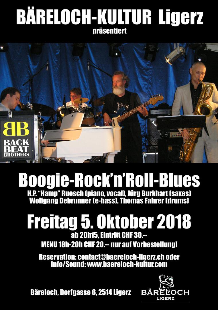 Bäreloch-Kultur Back Beat Brothers