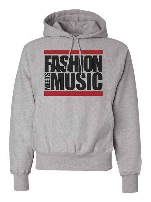 Fashion Meets Music Retro Hoodie