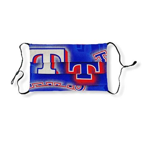 Adjustable Face Mask - Texas Rangers