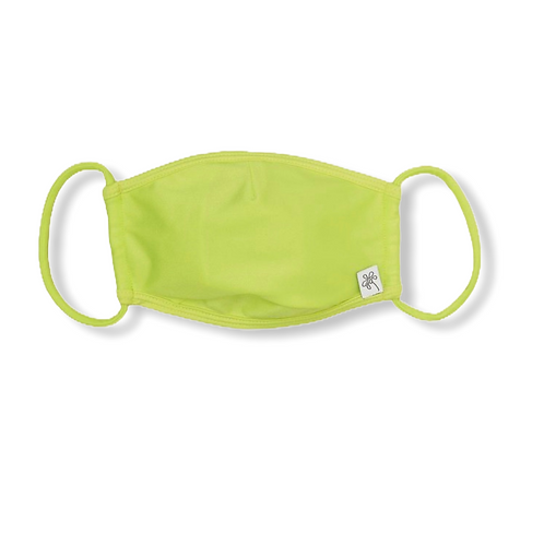 Adult Face Mask -Neon Green