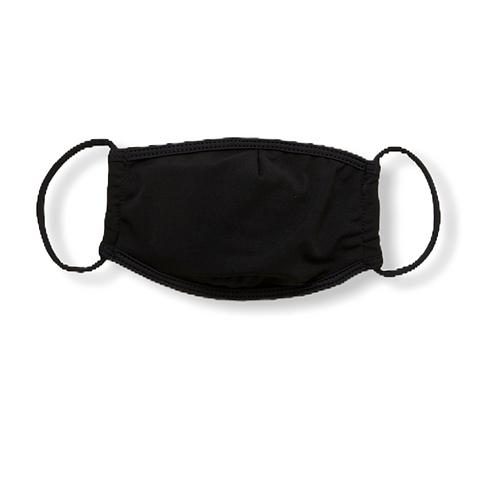 Adult Face Mask - Jet Black