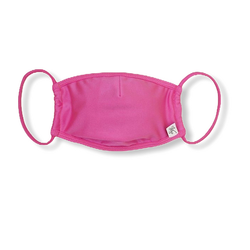 Adult Face Mask - Bright Pink