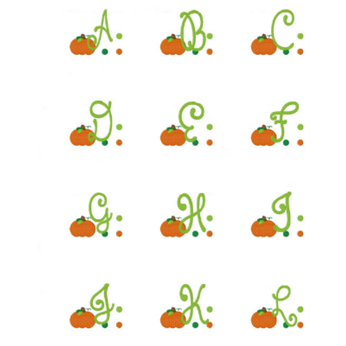 Pumpkin Ruffled Baby Bloomer