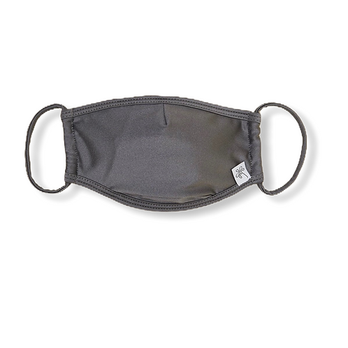 Adult Face Mask -Glossy Grey