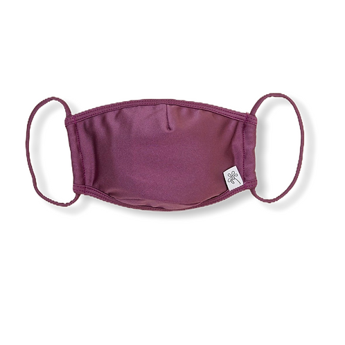 Adult Face Mask - Deep Ruby