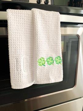 St. Patty's Dish Towels.JPG