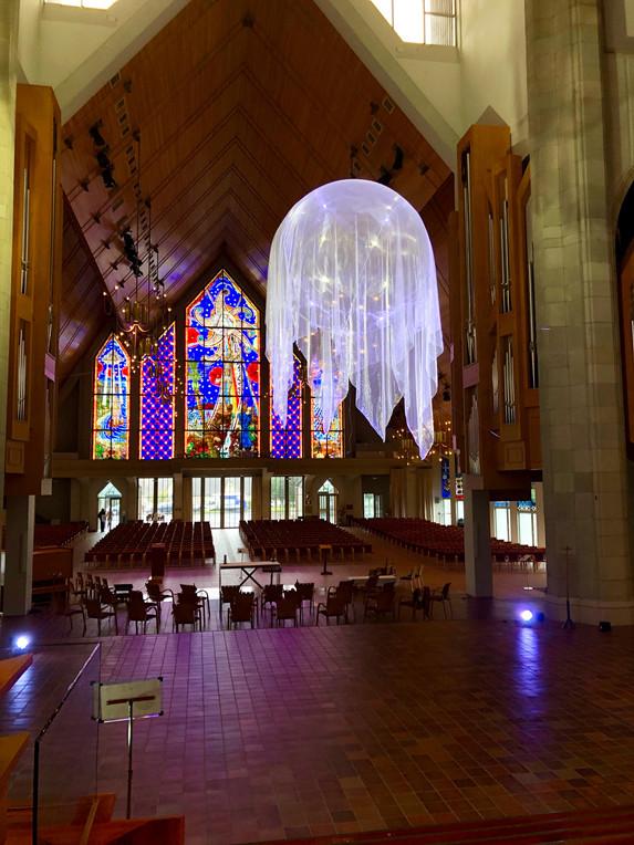 Awakenings IV, 2020 Holy Trintiy Cathedral, Parnell Artweek Auckland October 2020