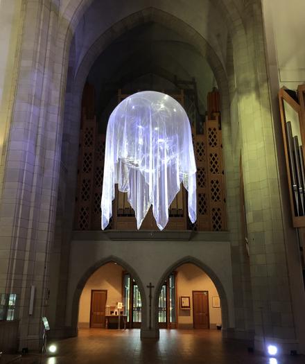 Awakenings IV, 2020 installation, Holy Trinity Cathedral Artweek Auckland 2020