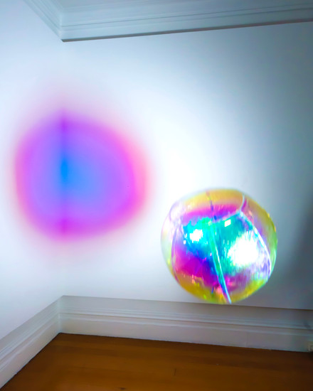 Awakenings I (rainbow), 2020 installation