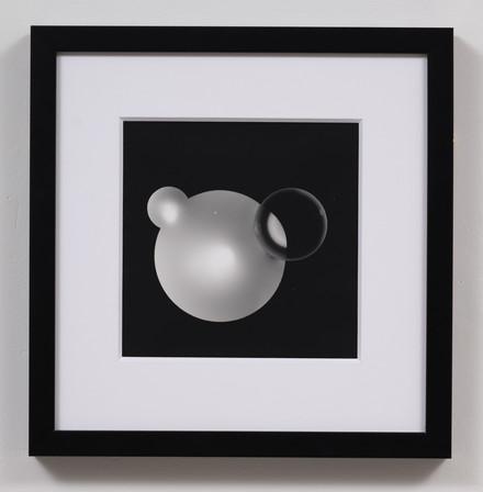 Numinous Spheres 4, 2021, photogram Photo credit: Sam Hartnett