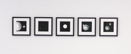 Numinous Spheres 1-5 photogram series, 2021 Photo credit: Sam Hartnett