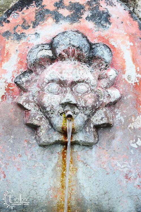 Guatemala Sun Fountain