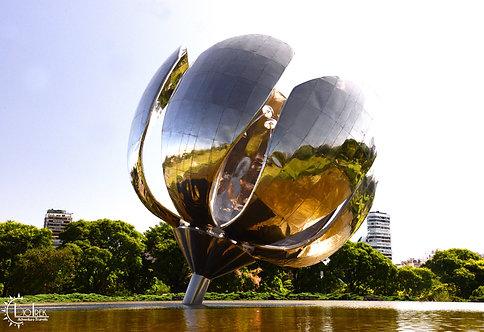 Argentina Lotus Sculpture