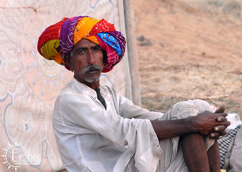 India Pushkar Man